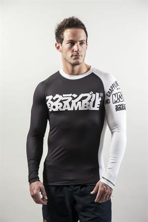 Scramble Ranked BJJ Rashguards